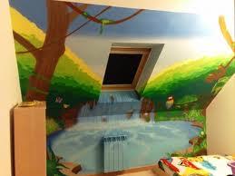 fresque murale enfant